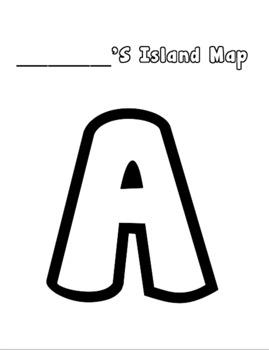 Map Skills Create an Island Project