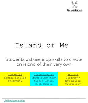 Map Skills-Island of Me Project