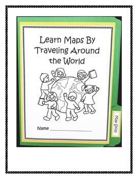 Map Skills Lapbook