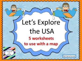 Map Skills---Let's Explore the USA