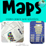 Map Skills  1st Grade | 2nd Grade | Geography and Maps and