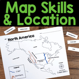 Map Skills & Location - Social Studies Unit