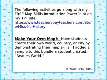 Map Skills: Make Your Own Map