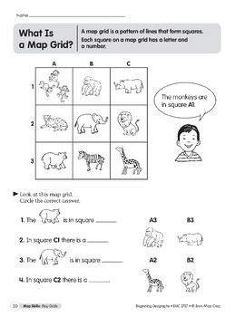 Map Skills: Map Grids
