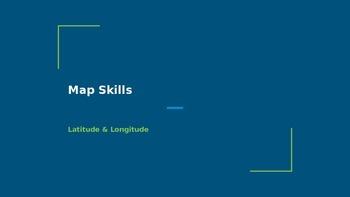 Map Skills: Map Literacy