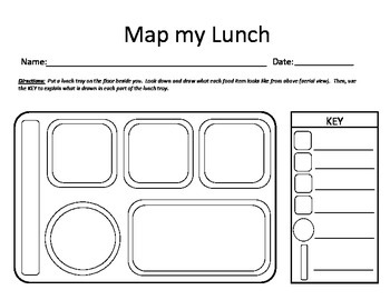 Map Skills- Map My Lunch- Lesson Plan