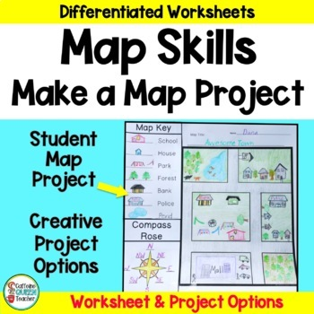 Map Skills - Make Your Own Map Project