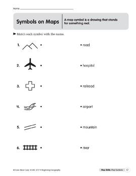 Map Skills: Map Symbols