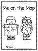 Map Skills: Me on the Map Book