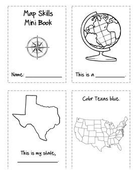 Map Skills Mini Book