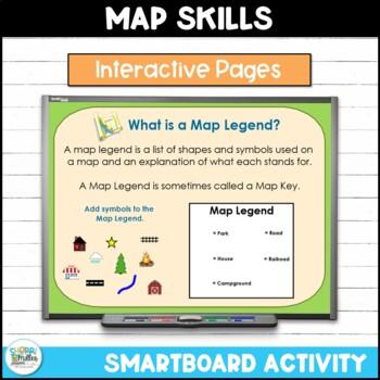 Map Skills - Neighborhood Maps SMARTboard lesson