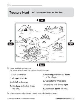 Map Skills: Positional Words