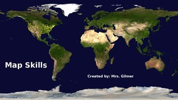 Map Skills PowerPoint