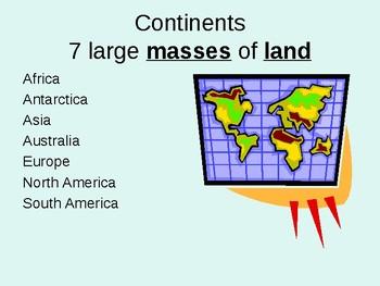 Map Skills PowerPoint