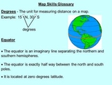 Map Skills PowerPoint Presentation and Activity