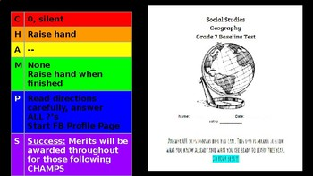 Map Skills Powerpoint Aligned to CCSS