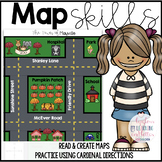 Reading Maps Worksheets (Coronavirus Take Home Packet )