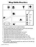 Map Skills Practice Bundle