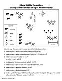 Map Skills Practice Worksheet - Resources Map