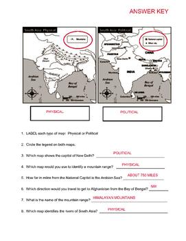 Map Skills Pre-Assessment
