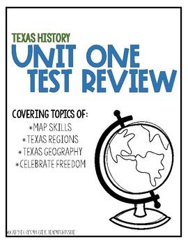 Map Skills Test Review FREEBIE!