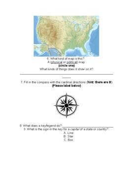 Map Skills Quiz