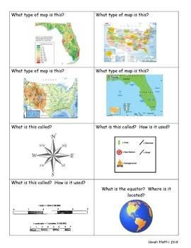 Map Skills Quiz, Quiz, Trade Game