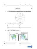 Map Skills Quiz - longitude, latitude, hemispheres, parts