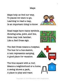 Map Skills Rhyme Bundle