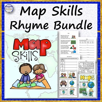 Map Skills Rhyme Bundle