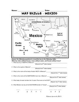 Map Skills - Riddle Fun