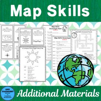 Map Skills Scavenger Hunt
