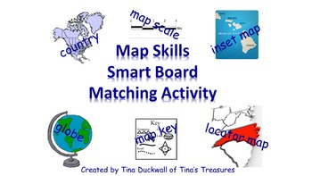 Map Skills Smart Board Activity