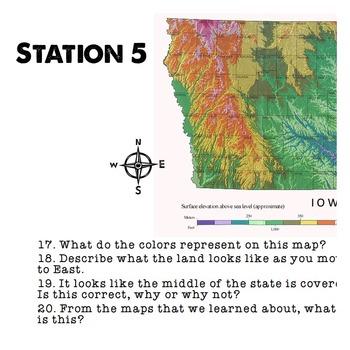 Map Skills Stations