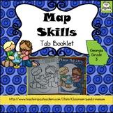 Map Skills Tab Booklet Georgia Grade 3