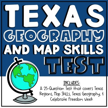Texas Geography & Map Skills Test