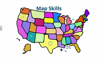 Map Skills - U.S. Geography