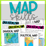 Map Skills Unit | Activities for Maps and Globes