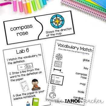 Map Skills Unit | Skills Centers for Primary Grades