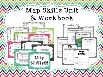 Map Skills Unit & Workbook!