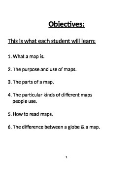"""Map Skills- """"Using Maps as a Primary Source"""""""