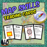 Map Skills Vocabulary Cards, Games, and Activities