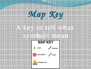 Map Skills Vocabulary (1st)