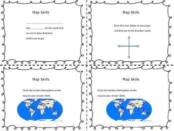 Map Skills Vocabulary Practice