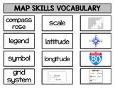 Map Skills Vocabulary Sort