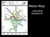 Map Skills - Washington, D.C. Metro