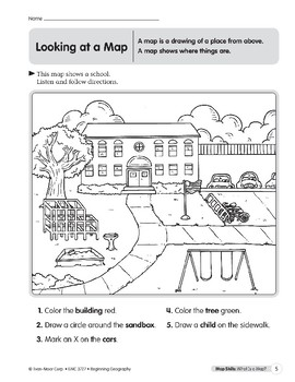 Map Skills: What Is a Map?