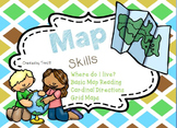 Map Skills - Where I'm From, Cardinal and Intermediate Dir