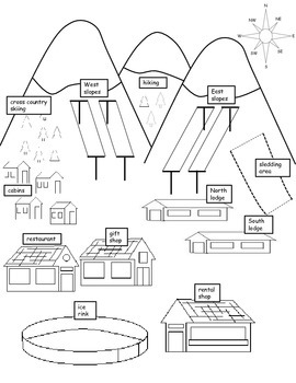 Map Skills: Winter Fun