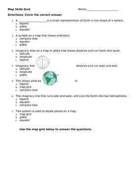 map skills worksheet map skills worksheet